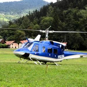 276/17 Pristanek helikopterja