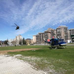 227/19 Pristanek helikopterja