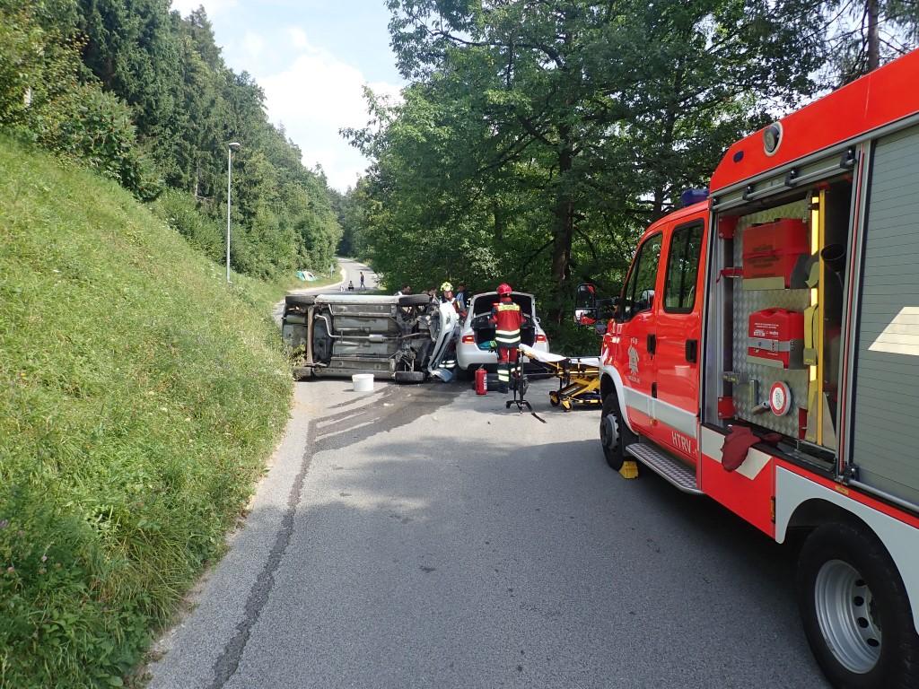 195/18 Prometna nesreča