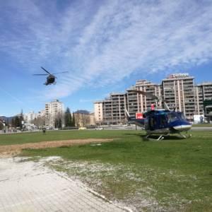 88/21 Pristanek helikopterja