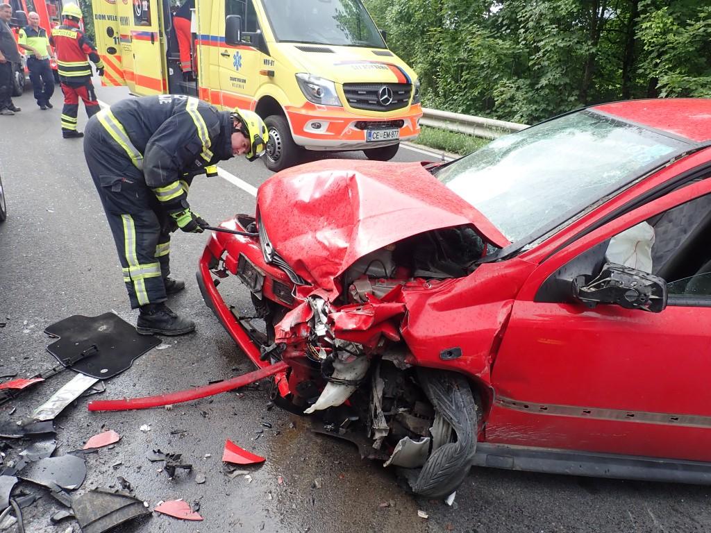 161/18 Prometna nesreča
