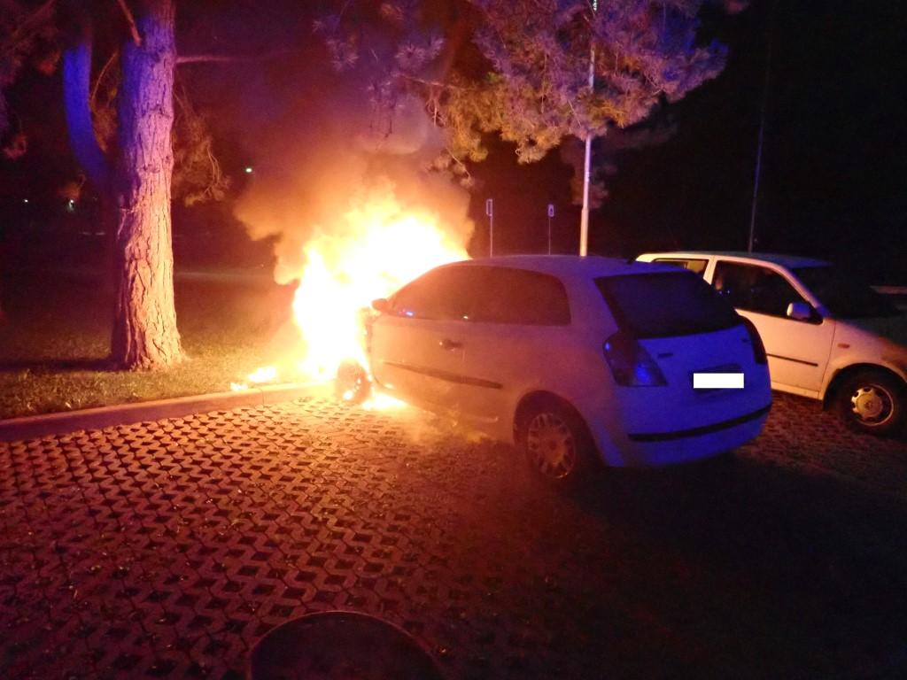 223/18 Požar vozila