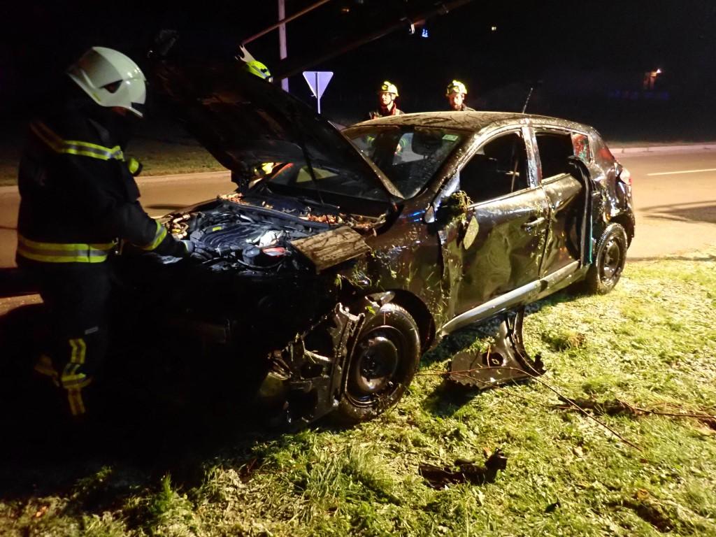 291/18 Prometna nesreča