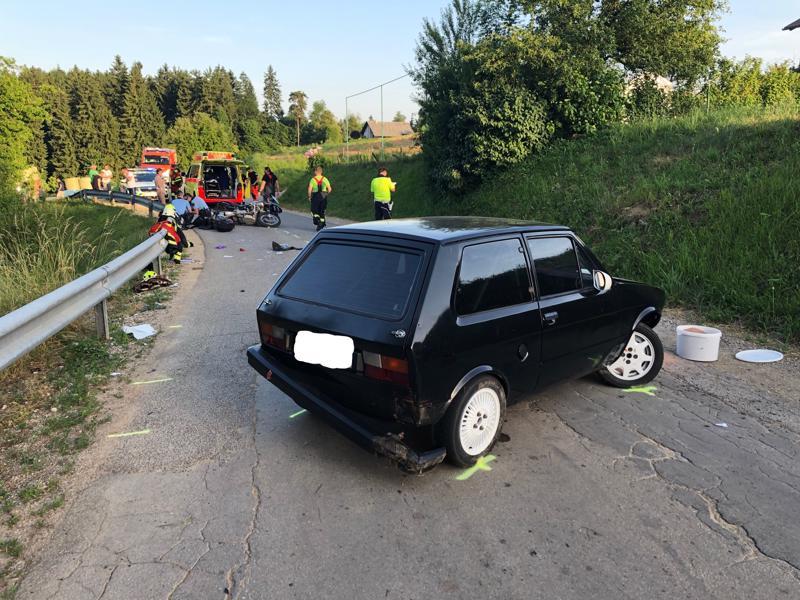 153/19 Prometna nesreča